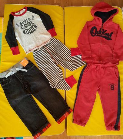 Спортивный костюм oshkosh 3т, пижама 3 года, джынсы Gimboree 3t пакет