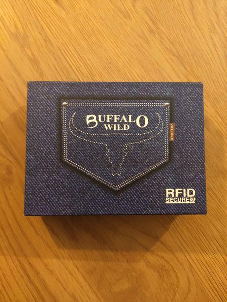 Portfel Buffalo nowy RFID skóra