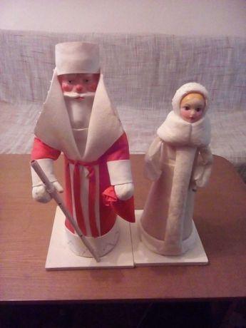 Дед Мороз и Снегурочка под елку СССР