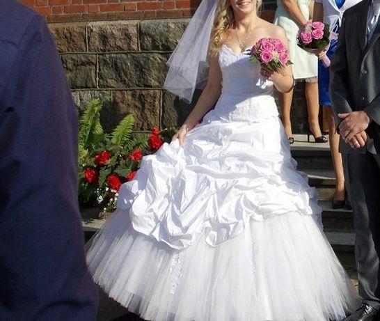 Sukienka ślubna r 36