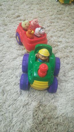 Музыкальный трактор ферма.
