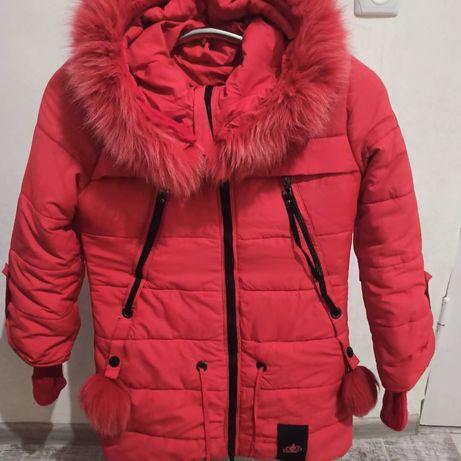 Продам дитячу зимову куртку.