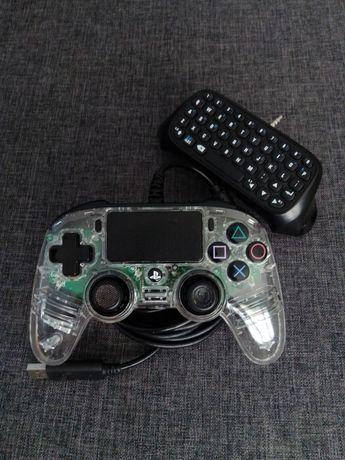 Pad PS4 + klawiatura
