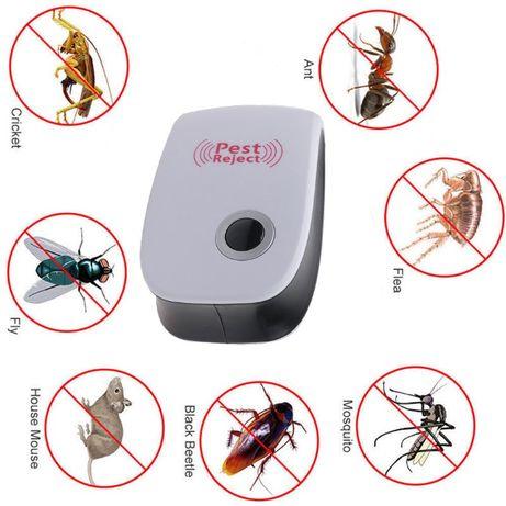 Contra baratas, ratos, ratazanas, mosquitos e outras bicharadas. Novo.
