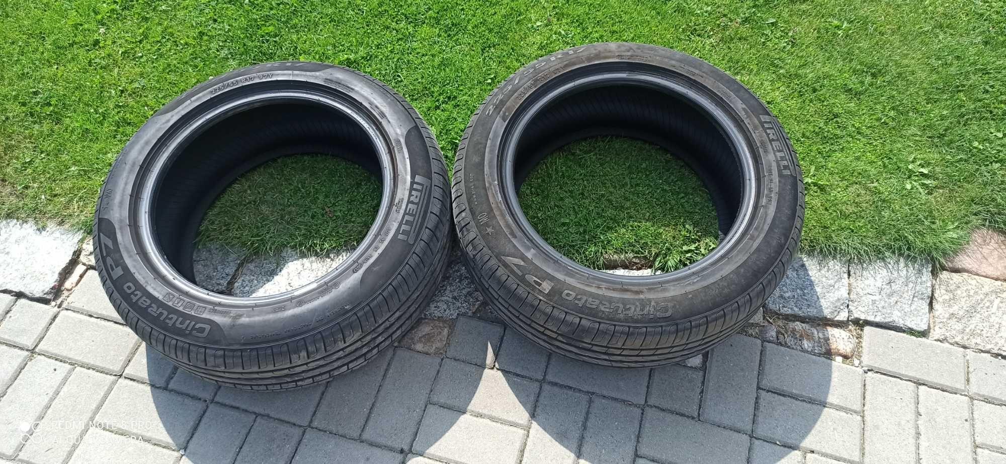 Opony 225/55/17 pirelli