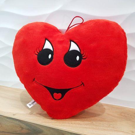 Мягкая игрушка Подушка сердце девочка 34см (4102)