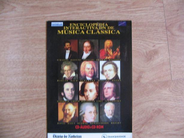 Enciclopédia interativa de Música Clássica (20 CDs)