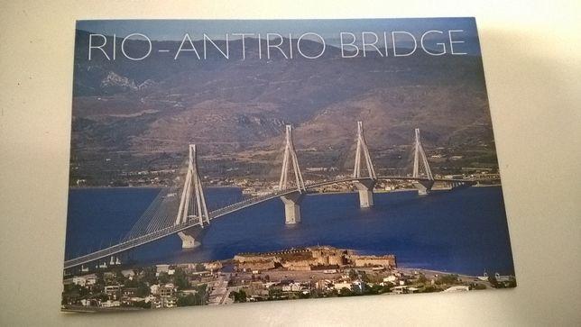 Postal Atenas - Ponte Rio Antirio - Patras (portes incluídos)
