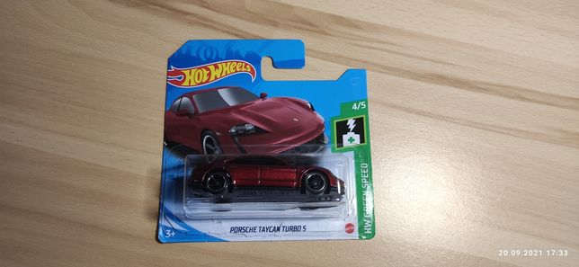 Hot Wheels Porsche taycan