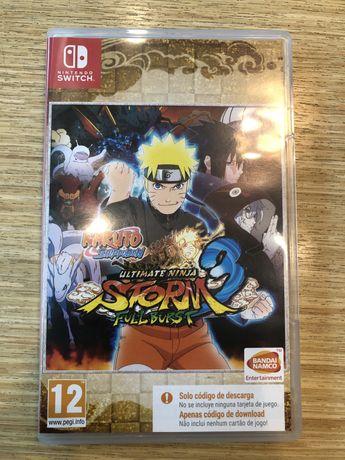 Jogo do Naruto para a Nintendo Switch