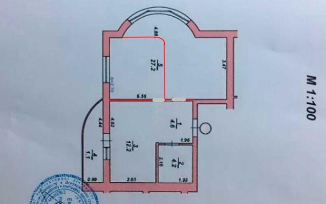 2 кімнатна квартира в зданій новобудові на Озерній TOP