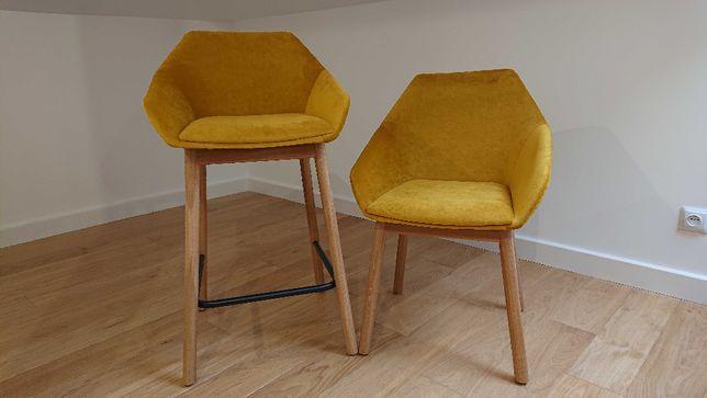 Krzesła i hokery Paged. Okazja!!!
