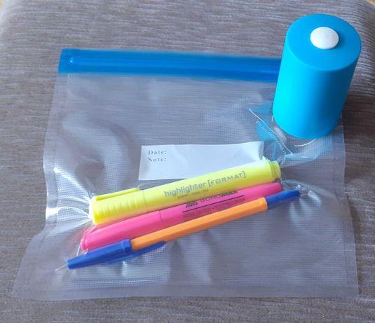 Вакуумный упаковщик для продуктов вакууматор еды пакеты Самовывоз