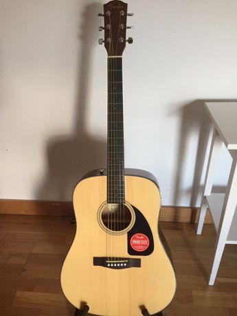 Fender CD60 V3 Nat (2020) - guitarra acústica