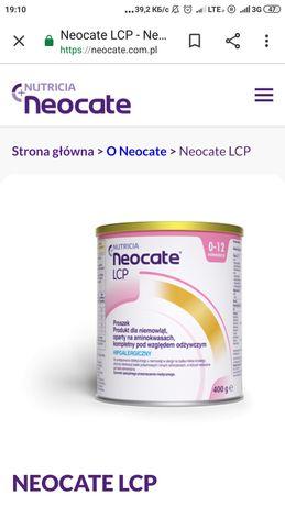 Neocate lcp mleko aminokwasy