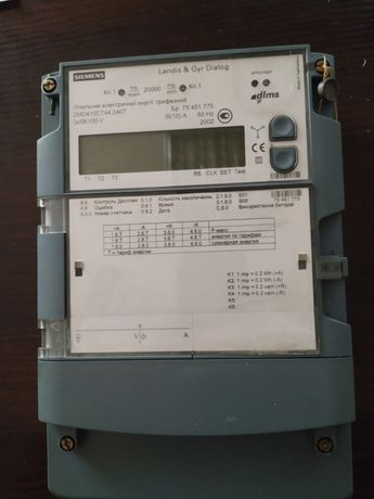 Счетчик электроэнергии трехфазный ZMD 410 CT производитель Швейцария