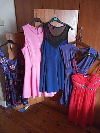 Sukienki 6 sztuk