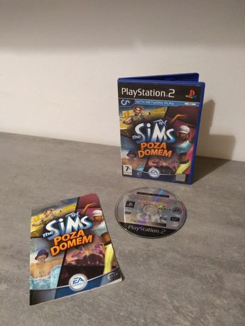 The Sims poza domem PS 2