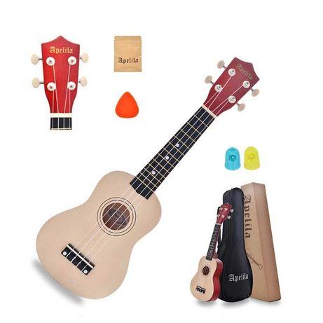Укулеле сопрано(гавайская гитара) APELILA (Набор). Скидка: -16%