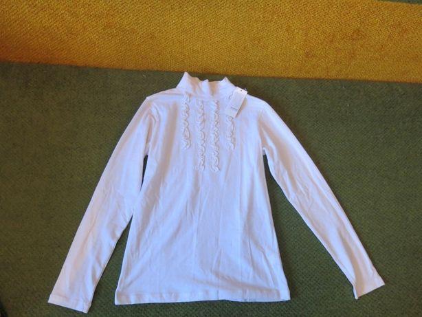 Школьный гольф, школьная блузка р. 152 см. 10-12 лет