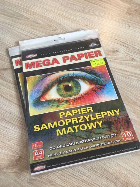 Folia/ papier samoprzylepny do drukarek różne rodzaje