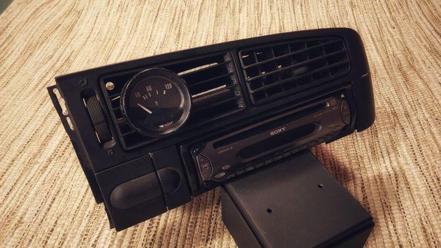 Suporte para manómetro ventilação 52 mm VW Golf 3 mk3 Gti Tdi Td