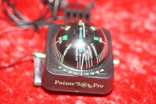 Bússola de afinação de antenas parabólicas