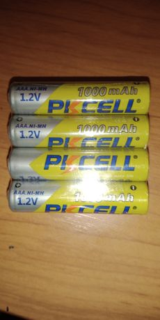 Аккумуляторные батареки ААА