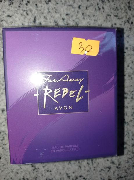 Avon rebel diva far away Glamour 50 ml nowe woda perfumowana damskie
