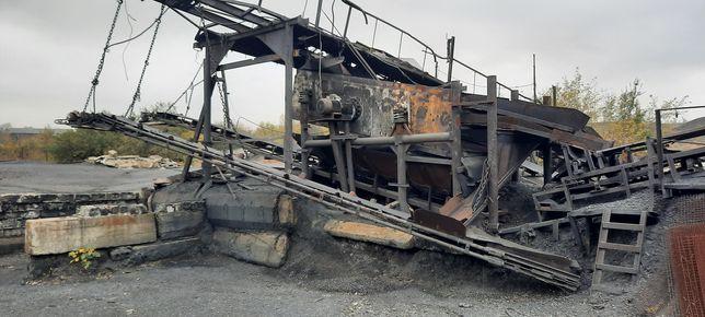 Продам грохот с системой конвейеров для сортировки угля