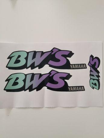 """Autocolantes para Yamaha BWS dos 90"""""""