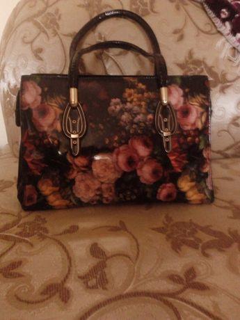 Жіноча сумка з прінтом