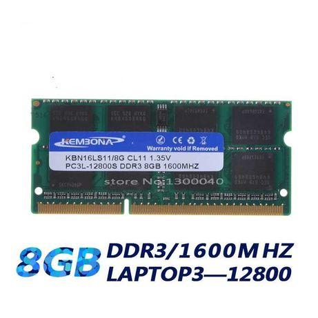 НОВАЯ 8GB 1600 МГЦ DDR3L ДЛЯ НОУТБУКА оперативная память озу ddr3