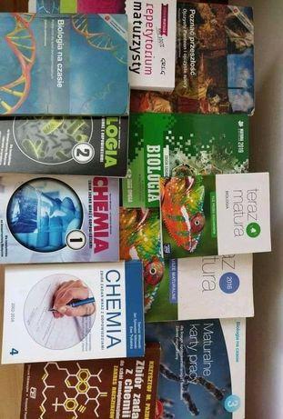 Książki do Liceum. Chemia, Biologia