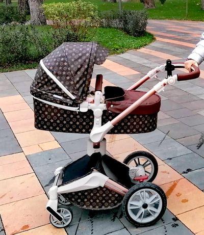 КОЛЯСКА  Hot mom 360 Luise Vuitton