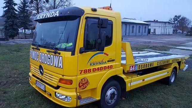 Pomoc Drogowa Brzeg A4 S8 DK94 Przylesie Osobowe i Ciężarowe NAJTANIEJ
