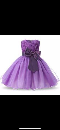 Платье нарядное выпускное 5-7 лет