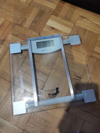 Waga łazienkowa waga do ważenia porządna szklana waga