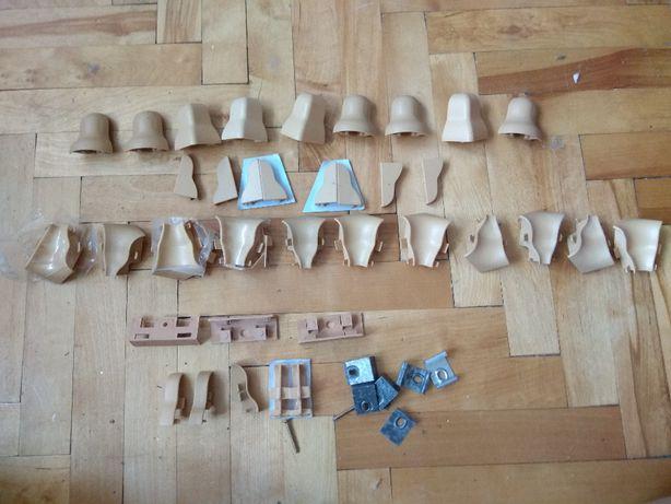 kształtki, łączniki końcówki do listwy podłogowej
