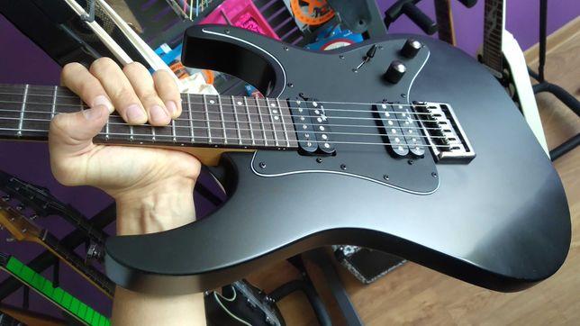 Schecter Banshee-6 SGR Satin Black gitara elektryczna
