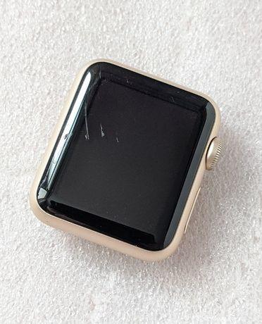 Умные часы Apple Watch 38 mm gold, 1st gen, на запчасти, рабочие