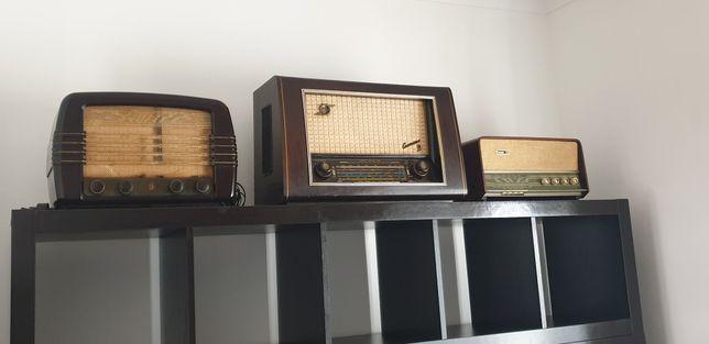 Rádios antigos para coleccionadores