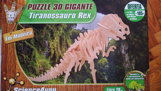 PUZZLE 3D Gigante Tiranossauro Rex