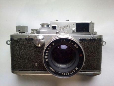 Фотоаппарат СССР Зоркий-3