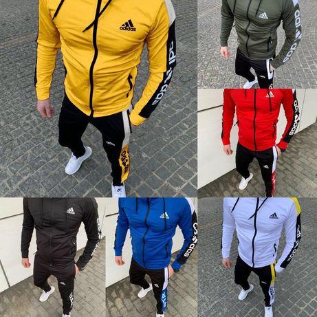 Мужской спортивный костюм Adidas,СКИДКА 3 дня!, весна, двунить
