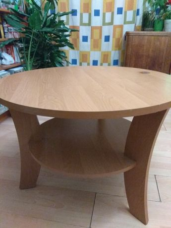 Stolik kawowy okrągły 80 cm