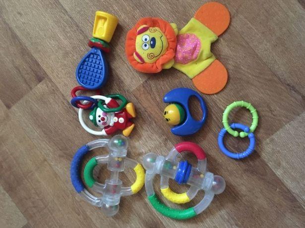 Погремушки игрушки набор 6 штук погремушка грызуны для ребенка