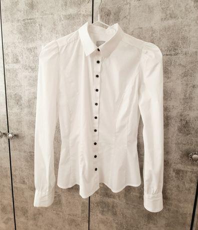 Новая белая классическая рубашка / блуза H&M, размер XS