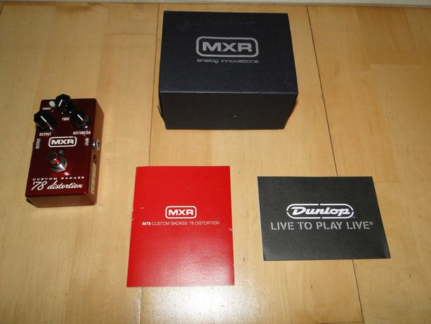 Efekt Gitarowy Dunlop MXR 78' Custom Badass Distortion.Mega Okazja