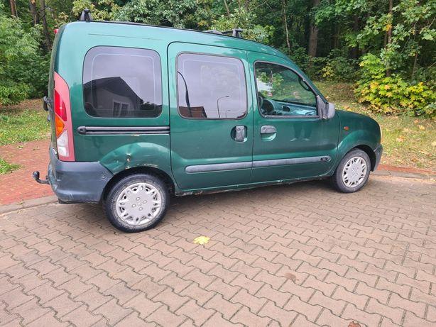 Renault Kangoo 1.4 *sprawny,szyberdach*5-osobowy*hak*długie oplaty